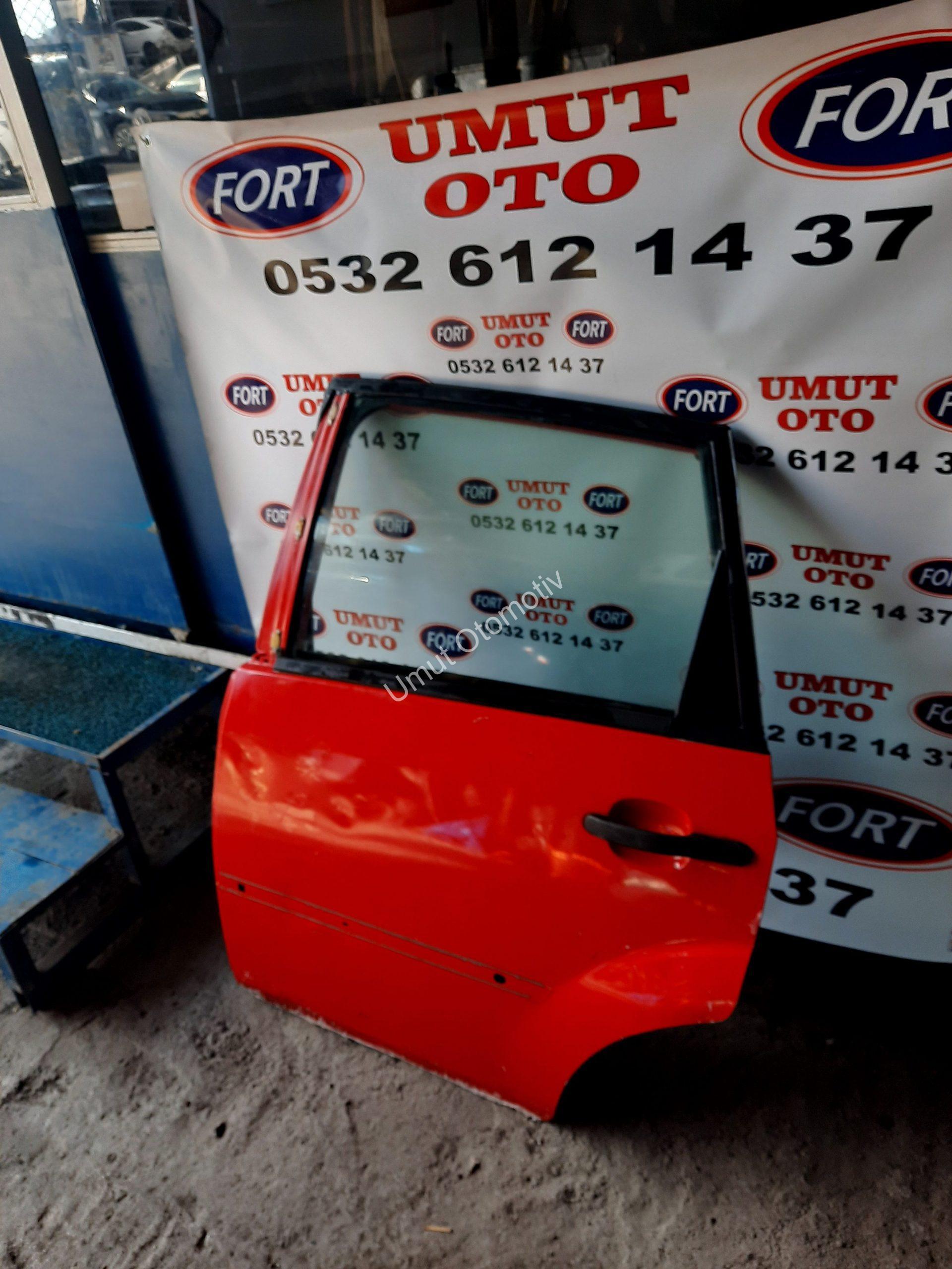 Ford Fiesta 2003-2008 Arası Sol Arka Kapı