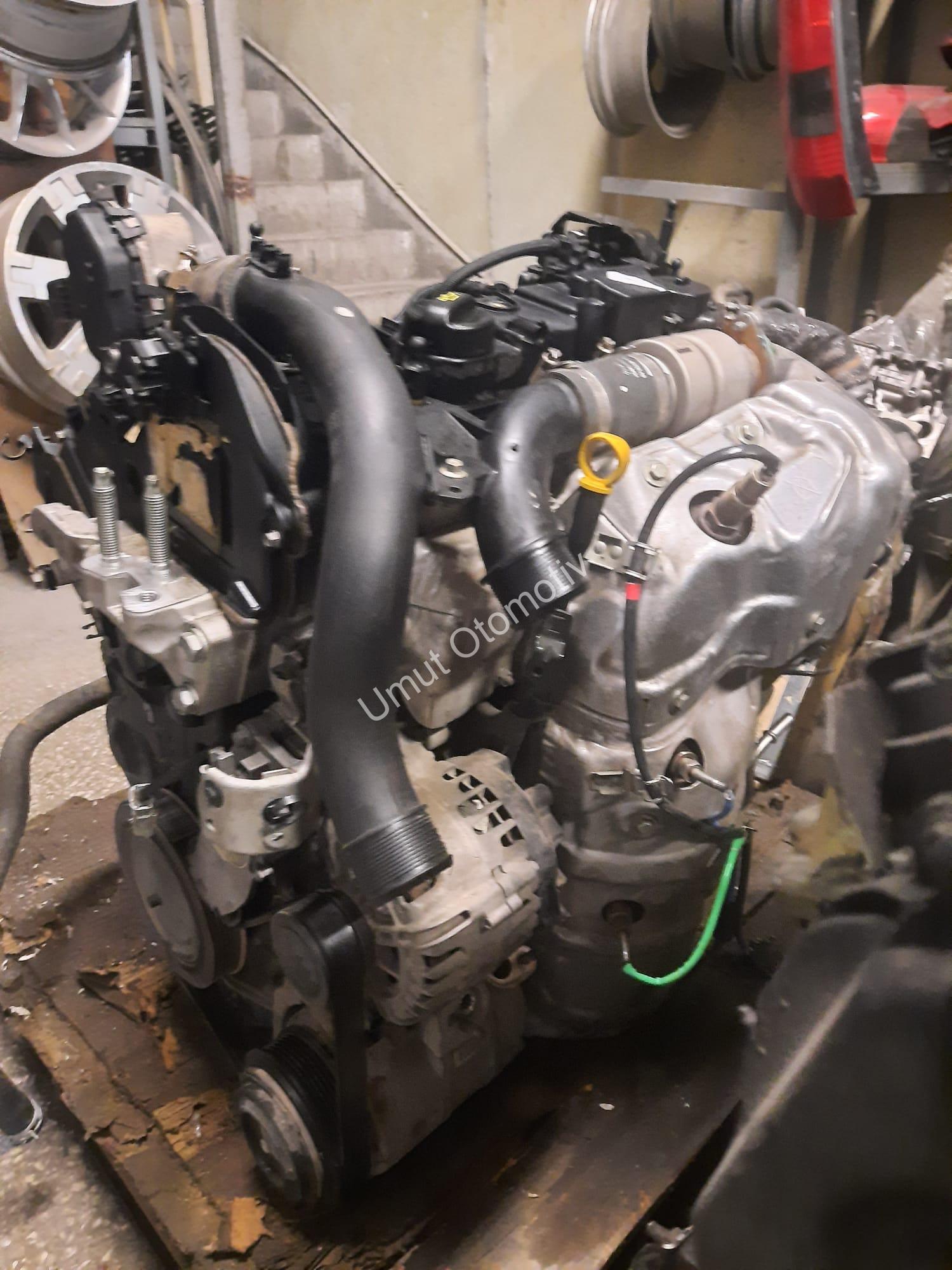 Ford Focus 2011-2018 Euro 5 1.5 Dizel Dolu Motor